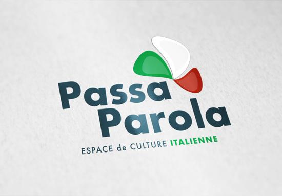 Réalisation du logo de Passa Parola