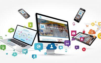 Site web pour IA BTP