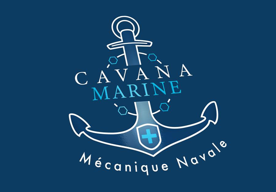 Création logo Cavana Marine